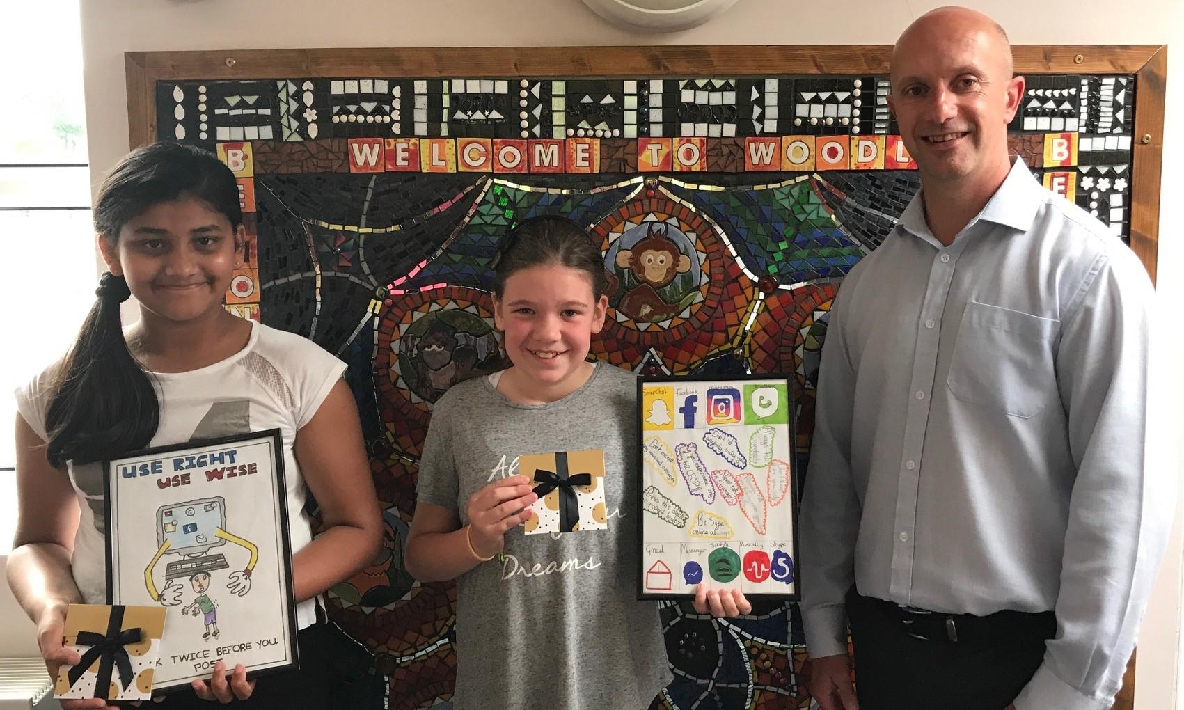 Joint 2nd place winners Woodlea Junior School