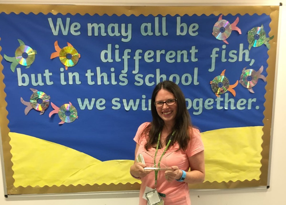 Emily Bedford - West midlands Supply Teacher of the Year 2017