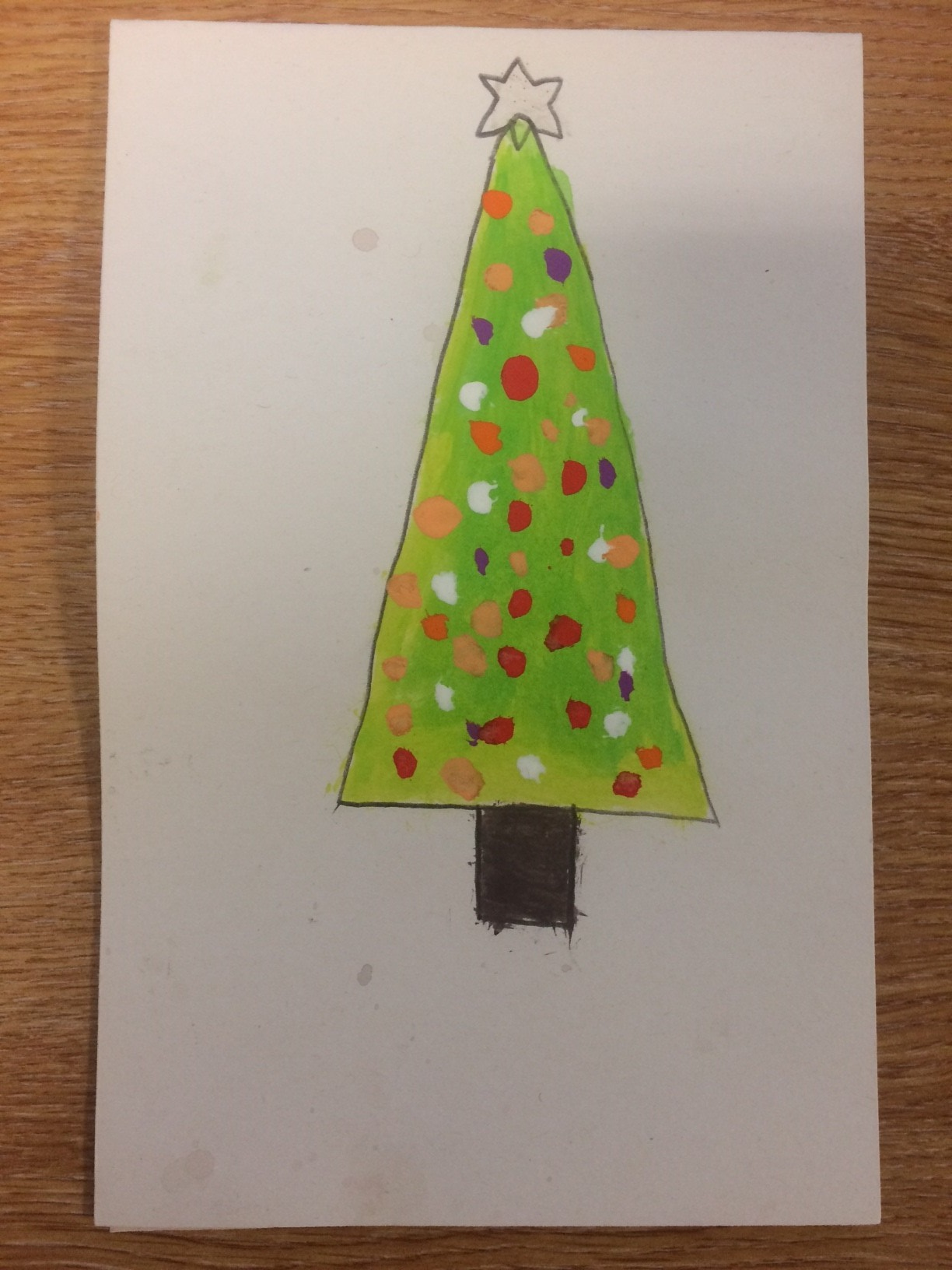 3rd prize Christmas card winner