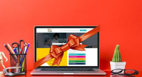 PK Education website relaunch